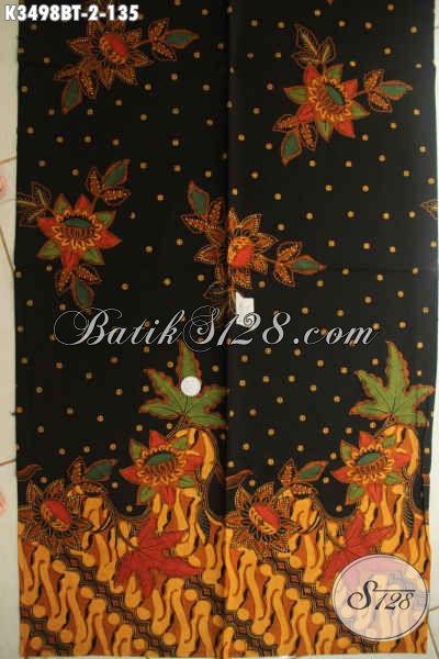 Kain Batik Bahan Busana Wanita Pria, Batik Halus Motif Terkini Warna Elegan Jenis Kombinasi Tulis, Batik Solo Istimewa Dengan Harga Biasa