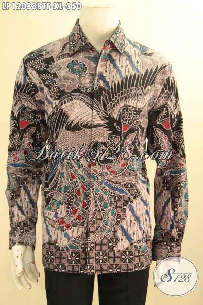 Agen Baju Batik Solo Terlengkap, Sedia Kemeja Kerja Lengan Panjang Full Furing, Baju Batik Istimewa Motif Terkini Kombinasi Tulis Cocok Juga Untuk Kondangan