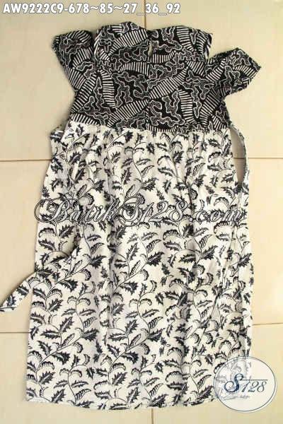 Produk Batik Nak Koleksi Terbaru, Pakaian Batik Trendy Kwalitas Bagus Bahan Halus Nyaman Di Pakai, Tampil Cantik Dan Bergaya [AW9222C-Umur 6,7,8 Tahun]