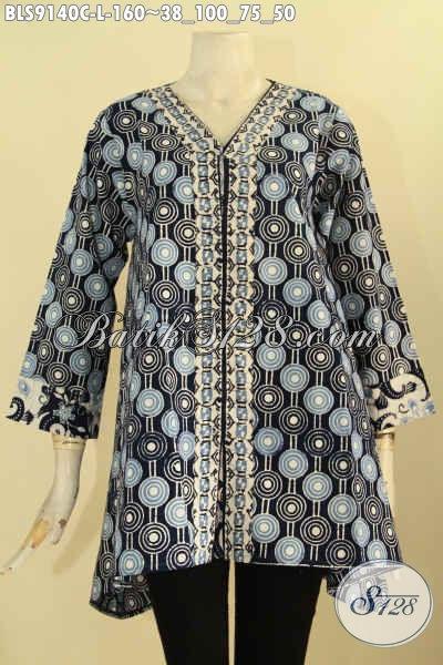 Jual Pakaian Batik Wanita Motif Unik Desain Trendy Khas Jawa Tengahm Busana Bati Blouse Solo Terkini Untuk Wanita Tampil Lebih Mempesona