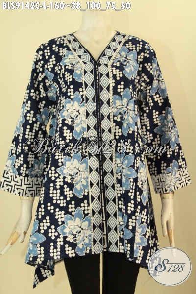Model Baju Batik Wanita Terbaru Kwalitas Istimewa, Produk Pakaian Batik Cewek Masa Kini Motif Unik Jenis Cap, Di Jual Online Hanya 100 Ribuan Saja