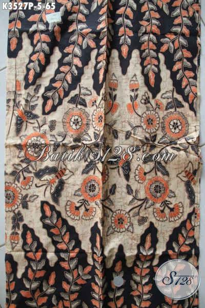 Produk Kain Batik Istimewa Dengan Harga Biasa, Batik Printing Solo Asli Motif Terbaru Kwalitas Halus Pas Banget Untuk Busana Kerja Nan Trendy Dan Berkelas [K3527P-200x110cm]