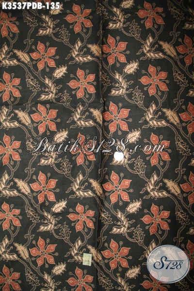 Batik Kain Print Dolby Halus Motif Trendy Bahan Busana Wanita Nan Berkelas, Batik Solo Asli Kwalitas Istimewa Dengan Harga Yang Terjangkau [K3537PDB-240x110cm]