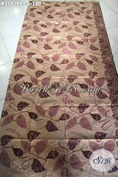 Kain Batik Modern Jenis Print Cabut Kwalitas Istimewa Motif Terkini, Cocok Untuk Aneka Busana Wanita Pria [K3543PB-240x110cm]