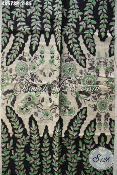 Kain Batik Bahan Busana Kerja Wanita Karir, Batik Solo Halus Kwalitas Istimewa Proses Printing Motif Terbaru, Cocok Juga Untuk Kemeja Cowok [K3573P-240x110cm]