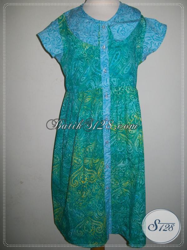 Jual Baju Batik Anak Perempuan Centil, Lucu Dan Menggemaskan [A002CS]