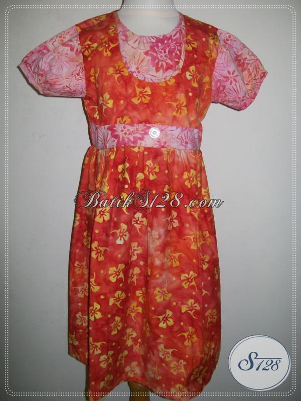 Baju Anak Lucu Murah Warna Oranye Pink [A011CS]
