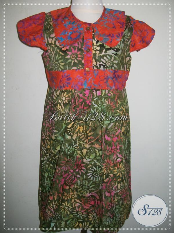Beli Baju Batik Anak Lucu Online, Harga Murah Dan Terpercaya [A013CS]