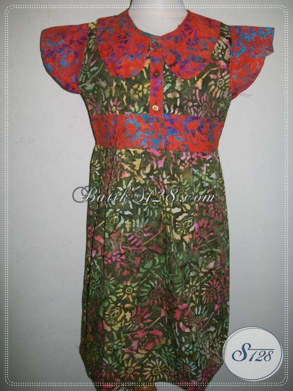 Baju Batik Anak Modern, Anak Perempuan Kecil Lucu Unik [A014CS]