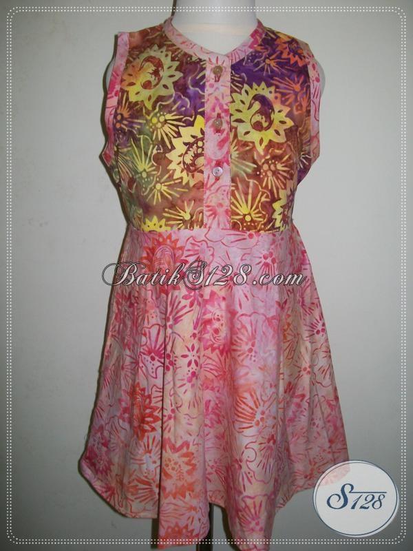 Jual Batik Anak Perempuan Murah Berkualitas, Asli Batik Solo [A016CS]