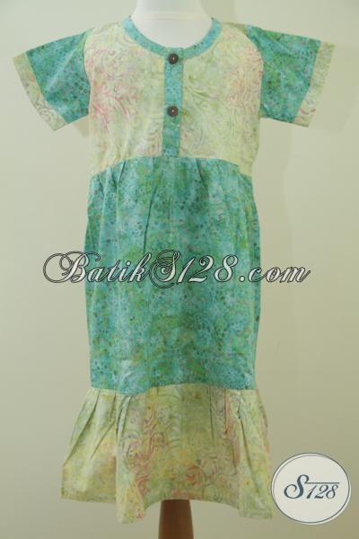 Baju Anak Batik Modern Dan Trendy Asli Produk Kota Solo [A036CS]