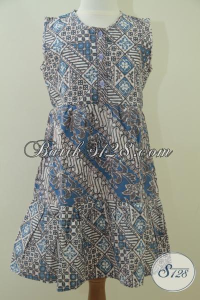 Batik Warna Alam Ramah Lingkungan Untuk Anak Perempuan [A047CA]