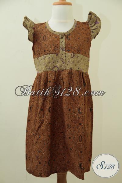 Tempat Belanja Baju Batik Anak Di Solo, Jual Busana Batik Model Terbaru  Untuk Anak Perempuan Usia 4 Hingga 6 Tahun Motif Klasik Modern Cantik Dan Trendy [A059BT]