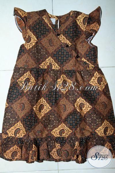 Baju Batik Anak Lucu Baju Anak Perempuan Batik