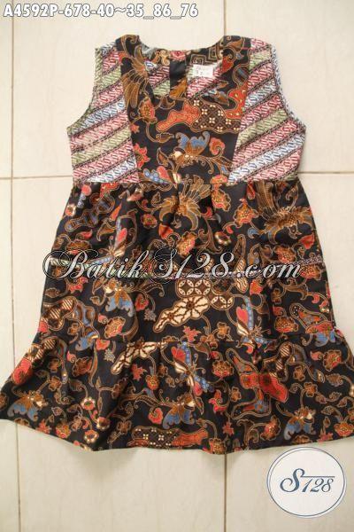 Baju Batik Anak Masa Kini Produk Busana Batik Trendy Model Tanpa