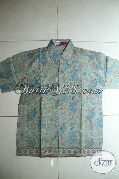 Baju Batik Trendy Lengan Pendek Warna Keren Dan Motif Trendy, Pakaian Kemeja Batik Anak Umur 8 Hingga 10 Tahun Bisa Tampil Modis Dan Gaul [ALD005P-L]