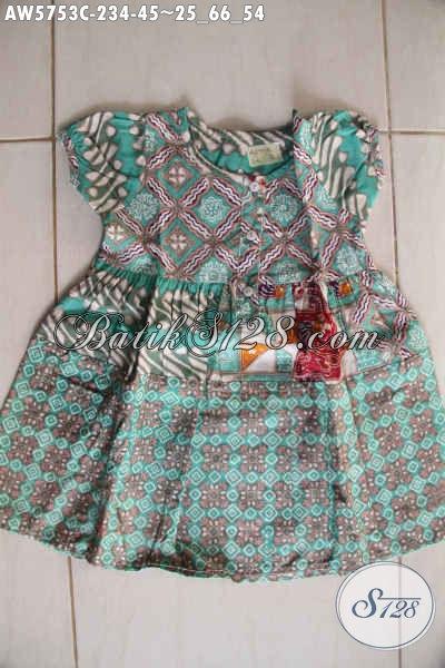 Baju Batik Imut Desain Lucu Motif Trendy Proses Cap, Untuk Anak Usia 2 Hingga 4 Tahun, Baju Batik Balita Terkini Tampil Lebih Stylish [AW5753C-2,3,4 Tahun]