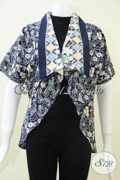 Butik Batik Solo Online, Jual Blazer Batik Keren Untuk Wanita Karir Aktif Semangat Dan Ingin Tampil Beda
