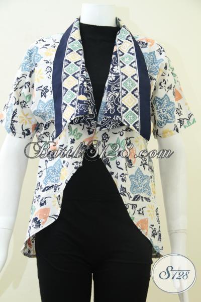 Balero Batik Trendy Harga Terjangkau, Blazer Batik Busana Kantor Wanita Karir Terkini
