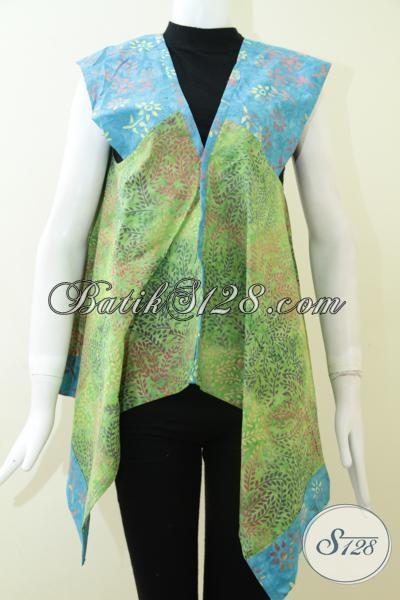 Busana Pesta Wanita Muda Dan Remaja Putri Modern, Baju Balero Batik Trendy Dan Gaul, Size M