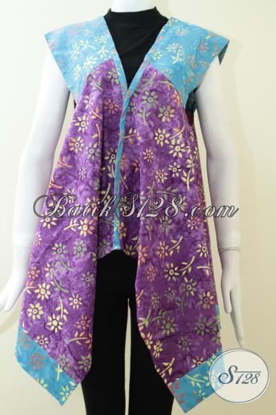 Baju Batik Terbaru Model Balero, Bisa Untuk Kerja Santai Maupun Ke Pesta, Size M – L