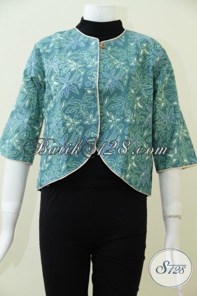 Jual Baju Batik Balero Terbaru Lebih Trendy Dan Modern, Balero Batik Solo Sempurnakan Penampilan Wanita Muda Masa Kini
