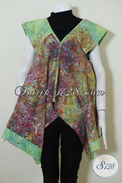 Jual Pakaian Batik Balero Untuk Wanita muda Dan Remaja Putri Tampil Trendy Serta Gaul, Busana Batik Masa Kini Proses Cap SmokePas Buat Pesta Dan Hangout, Size M -L