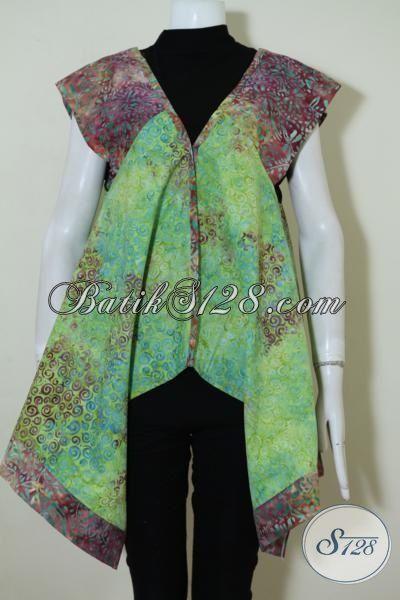 Balero Batik Pesta Masa Kini Dengan Desain Cantik Seksi Dan Trendy, Baju Batik Wanita Modern Tampil Prima, Size M – L