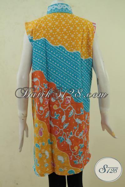 Batik Balero Lekbong Motif Kombinasi, Atasan Batik Model Terkini Dengan Warna Berkelas Membuat Penampilan Cewek Semakin Trendy [BLR3360P-All Size]