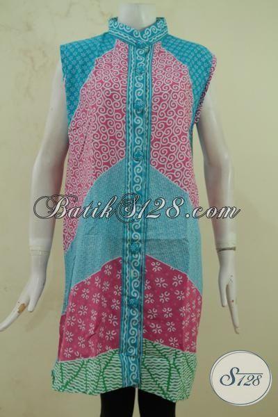 Perempuan Terlihat Lebih Cantik Dan Modis Dengan Balero Batik Lekbong, Berbahan Batik Printing Halus Kwalitas Istimewa