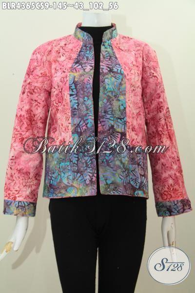 Baju Balero Untuk Wanita Muda Dan Dewasa, Pakaian Batik Lengan Panjang Desain Bolak-Balik Motif Trendy Cap Smoke Kwalitas Bagus Harga Terjangkau