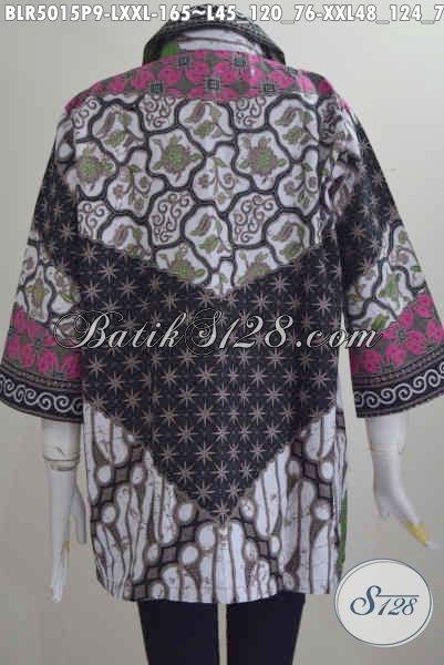 Jual Balero Batik Motif Sinaran Daleman Pakai Furing, Pakaian Batik Halus Istimewa Bahan Adem Buatan Solo Untuk Terlihat Lebih Mempesona [BLR5015P-L]