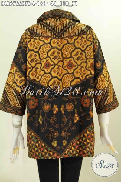 Jual Online Balero Batik Istimewa Desain Berkelas Daleman Full Furing Motif Klasik Printing 100 Ribuan [BLR6722PF-L]