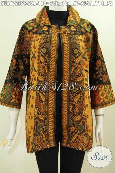 Koleksi Busana Batik Buat Wanita Terbaru Baju Batik Modis Model