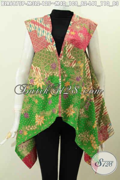 Jual Online Balero Batik Modis Halus Keren Untuk Penampilan Lebih Trendy Dan Gaya [BLR6875P-M , L]