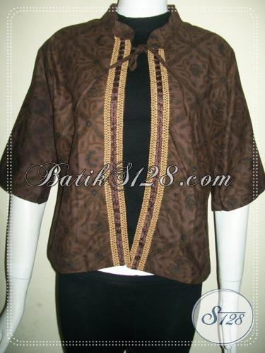 Motif Batik Klasik Untuk Bolero Trendy [BLR779P]