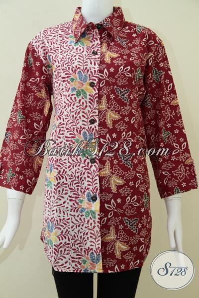 Butik Batik Wanita Elegan Di Solo,Motif BAtik Solo Untuk Wanita Muda [BLS1040C-XL]