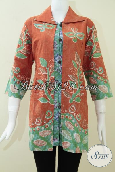 Baju Batik Wanita Muda Aktif Dan Ukuran Jumbo Bls1067p