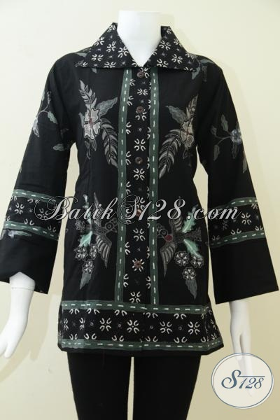 Pakaian Batik Wanita Untuk Para Pekerja Kantor [BLS1086T-M]