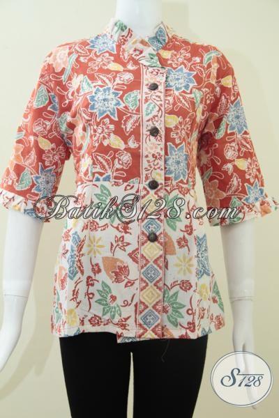 Trend Batik Model Batik Kerja Kantoran Untuk Wanita Dinamis Dan