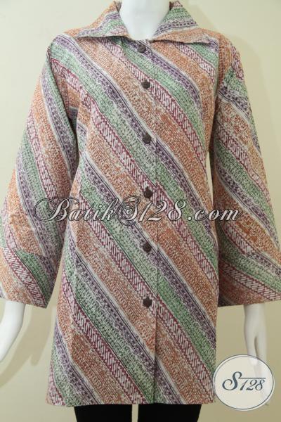 Baju Batik Wanita Exclusive Dan Modern Ukuran Jumbo