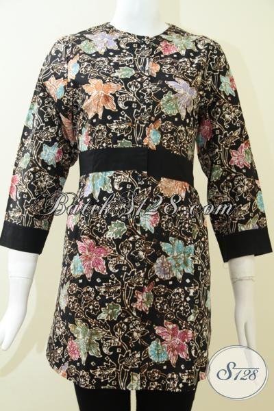Pakaian Batik Wanita Warna Elegan Dan Modern [BLS1278C-M]