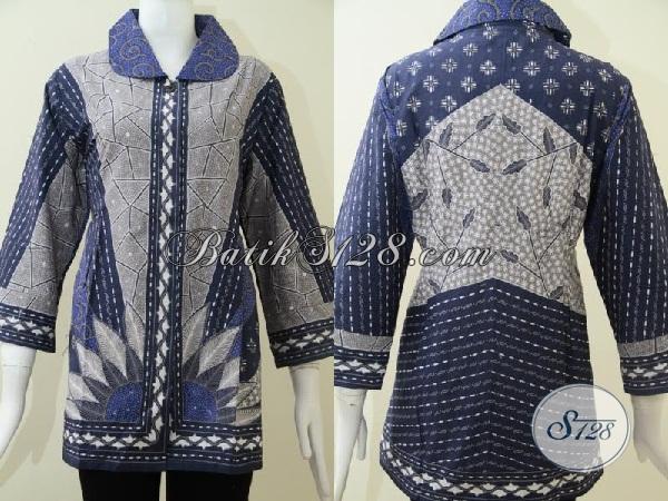 Baju Batik Tulis Halus Wanita Ukuran Besar Bls1293t Xxl