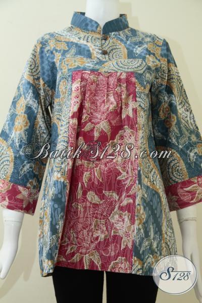 Pakaian Batik Wanita Untuk Santai [BLS1313P-M]