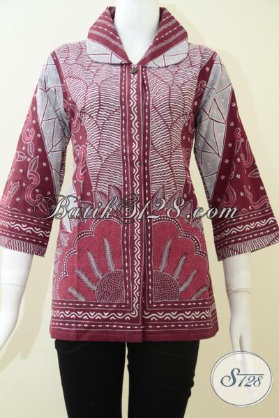 Baju Batik Wanita Tulis Solo Bls1343t M Toko Batik