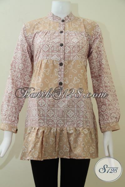 Batik Wanita Warna Soft Asli Batik Handmade Solo [BLS1424C-M]