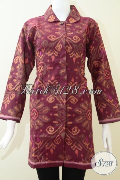 Jual Baju Tenun Untuk Perempuan Muda Dan Dewasa Berkelas, Size M