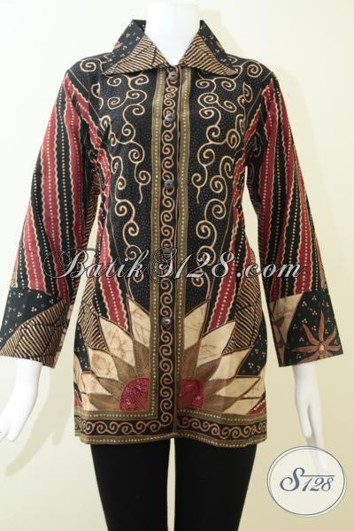 Blus Batik Cantik Modern Dan Berkelas Baju Batik Solo Model Terkini