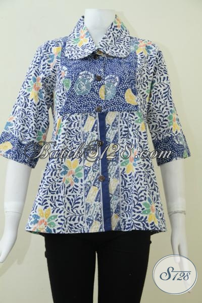 Jual Busana Batik Blus Untuk Wanita Muda Dan Dewasa