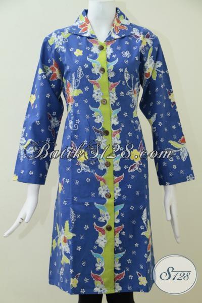 pics photos blus batik cantik warna keren perpaduan